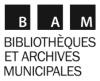 logoBibliothèques et archives municipales
